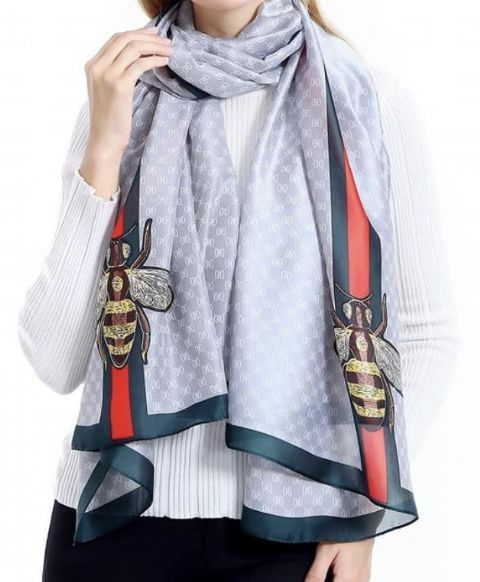 Betty Bee Scarf Silver